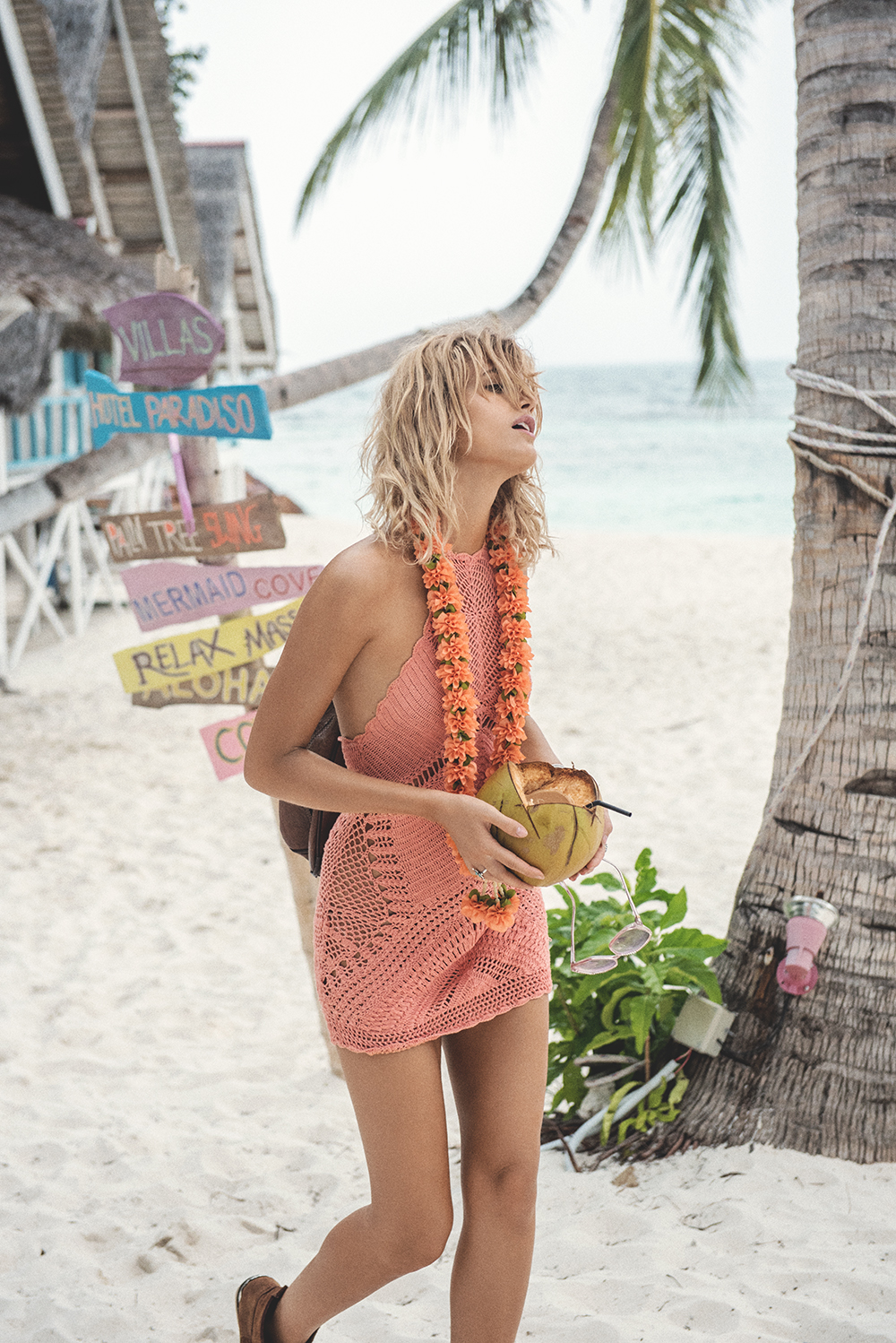 13_Palm springs crochet dress coral-6414